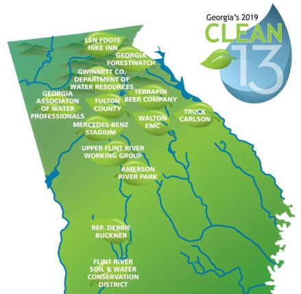 """Georgia Water Coalition Announces """"Clean Water Heroes"""""""