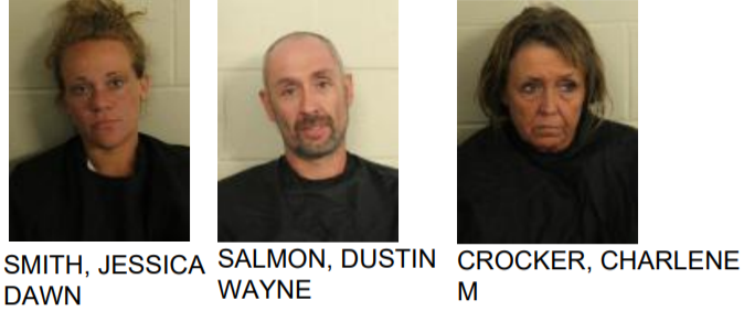Three Jailed for Meth Distribution
