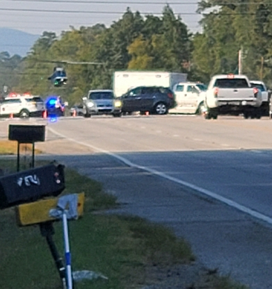 Wreck on US 27 results in Lifeflight being Called