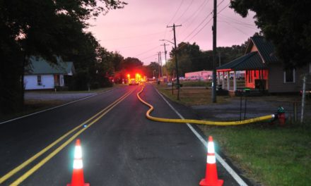 Chemical Fire in Calhoun Causes Closures