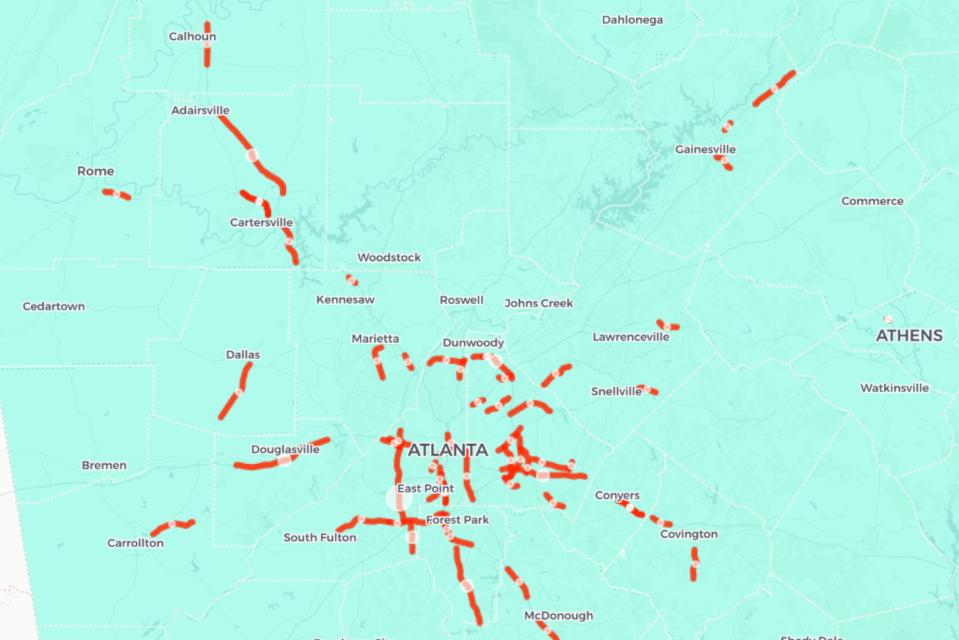 The 57 Deadliest Roads in Georgia