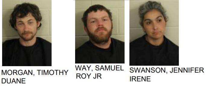 Three Arrested After Police Find Bag of Drugs