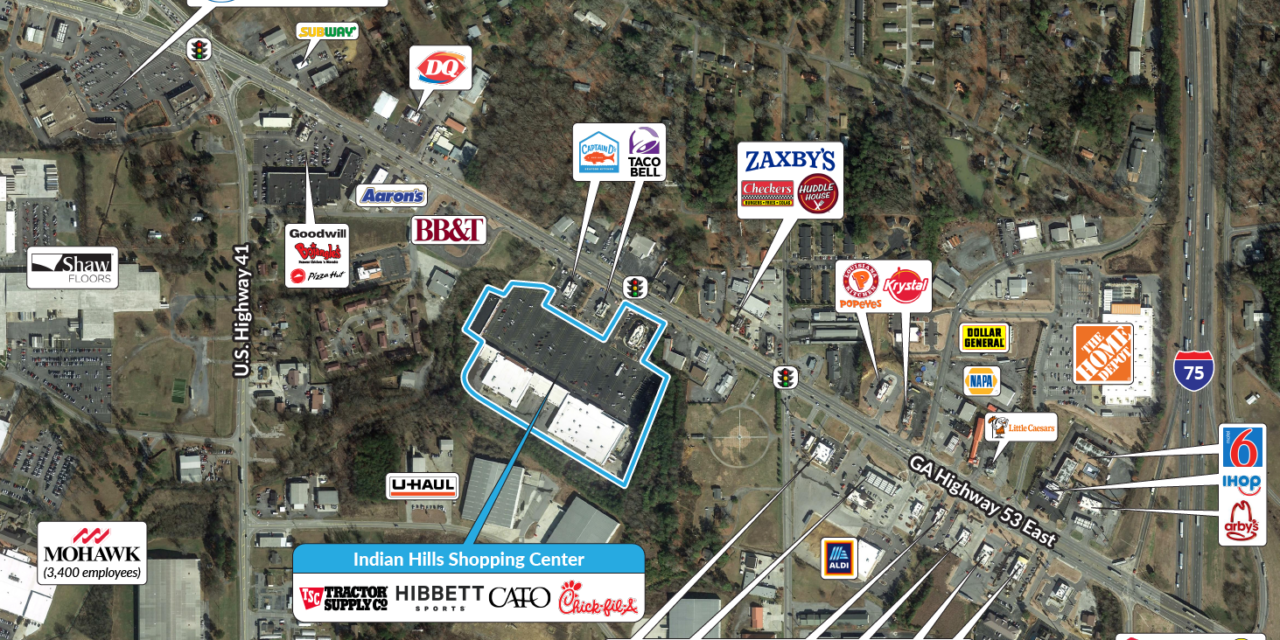 Halpern Acquires Indian Hills Shopping Center in Calhoun