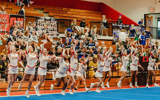 Rome High School Competition Cheer Brings Home First Place at Dalton's Spooks and Spirits Competition