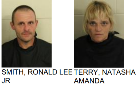 Couple Found with Meth, Drug Objects