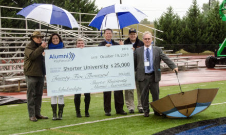 Shorter's Alumni Board Invests $25,000 in Student Scholarships