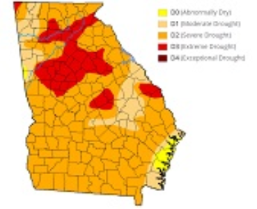 Level 1 Drought Response issued for Bartow, Gordon and Polk