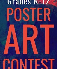 Call for Entries – Poster Art Contest for Students in Grades K-12