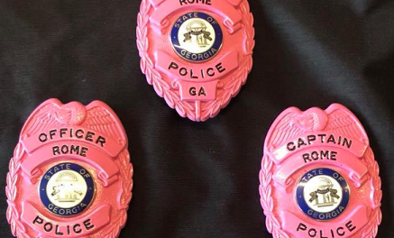 Rome Police to Wear Pink Badges