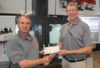 Gene Haas Foundation makes $22,000 donation to GNTC program