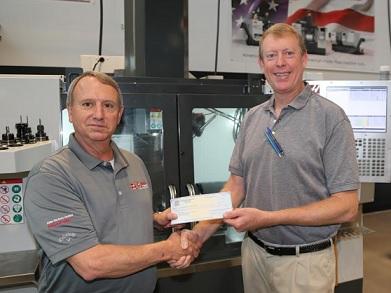 Gene Haas Foundation makes $22,000 donation to GNTC program