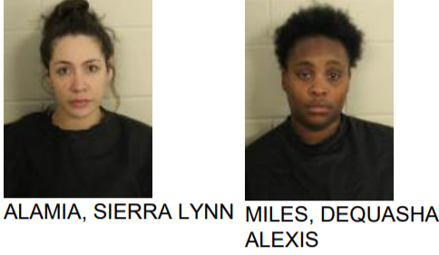 Rome Women Found with Drugs During Search