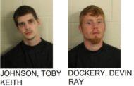 Men Found Found Driving Stolen Vehicle, One with Meth