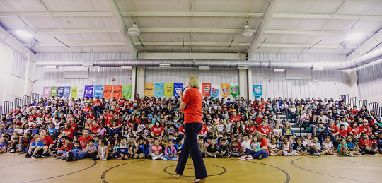 Elm Street Elementary School Named GaDOE Reward School