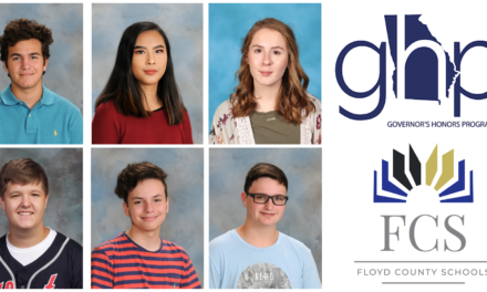 Six Floyd County students advance to state semifinals in the Governor's Honors Program