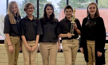 Floyd County Middle School Students Win State 4-H Life Skills Competition