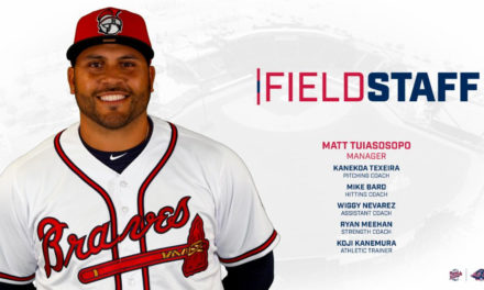 Rome Braves Announce 2020 Field Staff