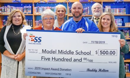 Floyd County Schools Substitute Teacher Earns National Recognition