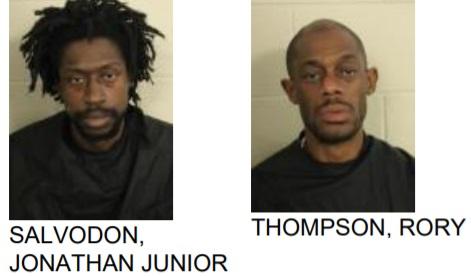 Two ARrested for Felony Shoplifting, Threat