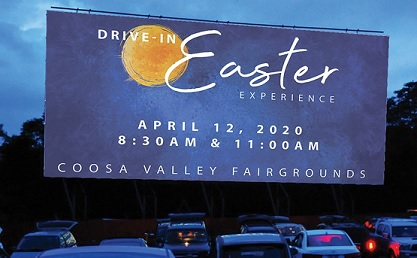 Multiple Community Churches to Host Drive-in Easter
