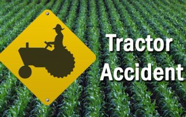 Man Injured After Being Ran Over By A Tractor In Sand Rock