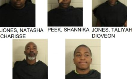 Five Arrested After Fight in Public