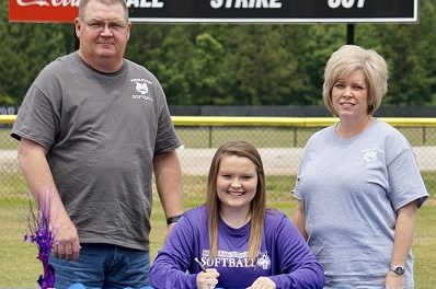 Armuchee High Signs Softball Scholarship