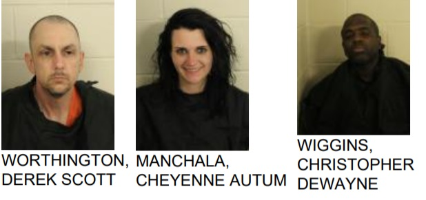 Three Arrested After Police Find Drugs at Gas Station