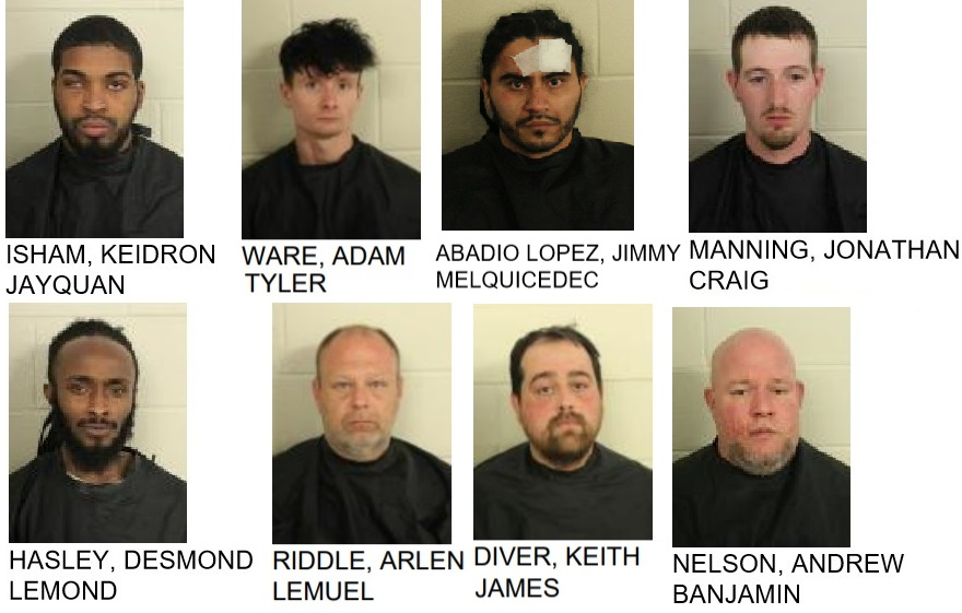 Local Police Arrest Ten Men in Child Sex Sting Operation