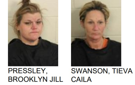 Cave Spring Women Found with Meth