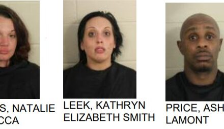 Three Arrested on Drug Charges During Traffic Stop