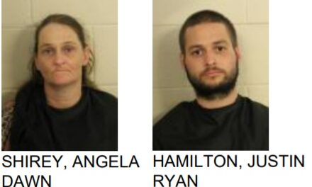 Two Arrested for Meth After Police Pull Over Stolen Car