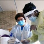 GNTC Medical Assisting students participate in lab sessions