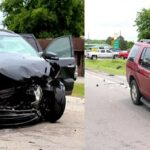 Four Injured in Head on Wreck