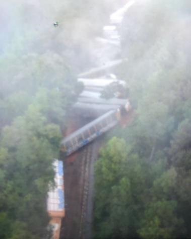 Train Derailment in Bartow Leads to Road Closure