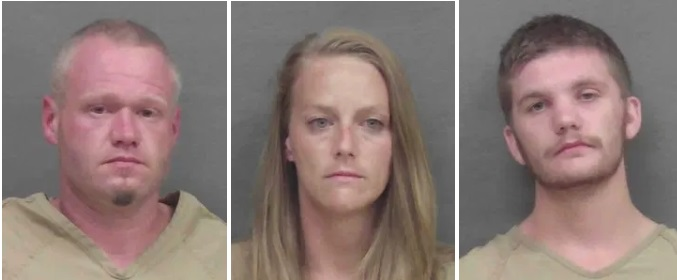 """3 Arrested, 1 sought in Connection with Thefts of '4 Wheeler' ATVs, """"Chop Shop"""" Shut Down by Deputies"""