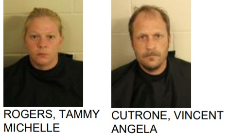 Two Arreted After burglarzing Home in Armuchee
