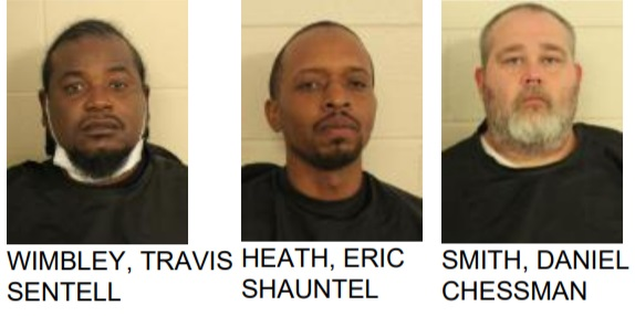 Three Arrested After Search Warrant, Deputies find Drugs and Gun