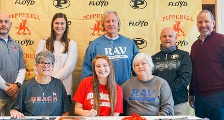 Pepperell Senior Signes to Play College Volleyball