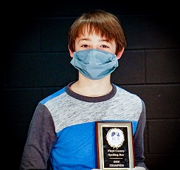 Defending Champion Wins Second Floyd County Schools' District Spelling Bee