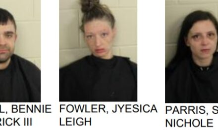 Three Arrested for Trafficking Meth in Silver Creek