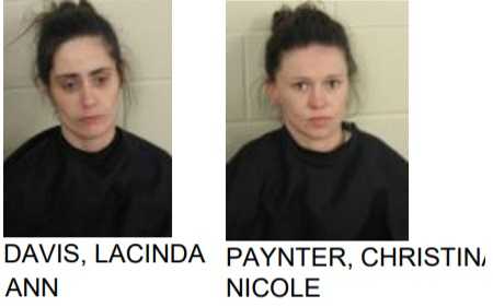Two Women Arrested Near Cave Spring on Felony Drug and Gun Charges After Traffic stop