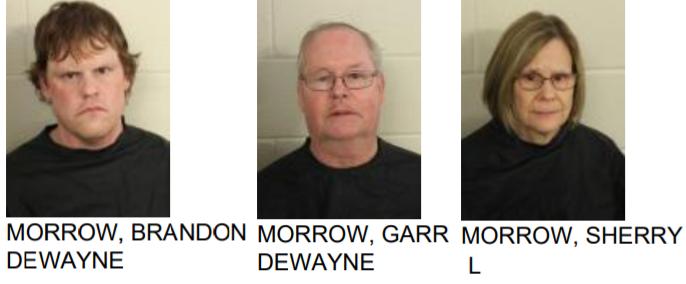 Family Arrested After Drug Raid