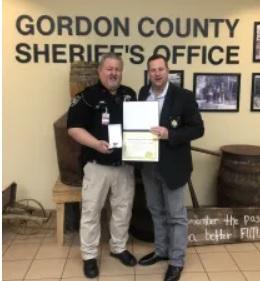 Sheriff Recognizes Longest Serving Deputy