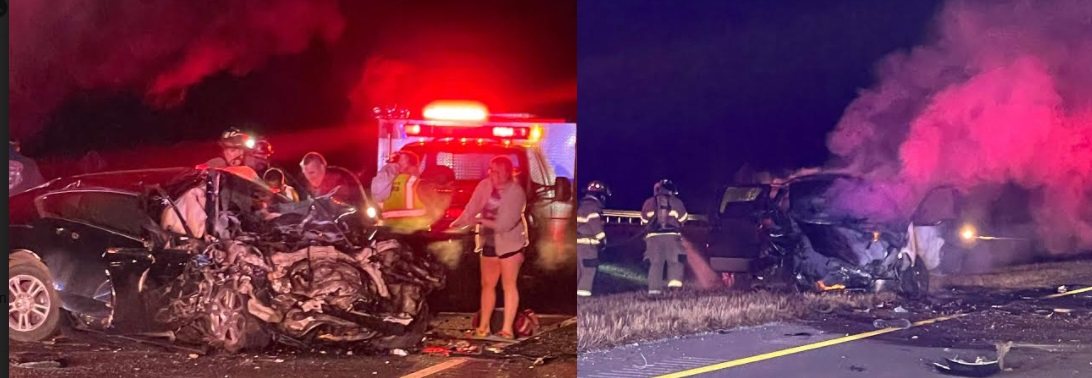 Head-On Wreck on Highway 53 in Rome
