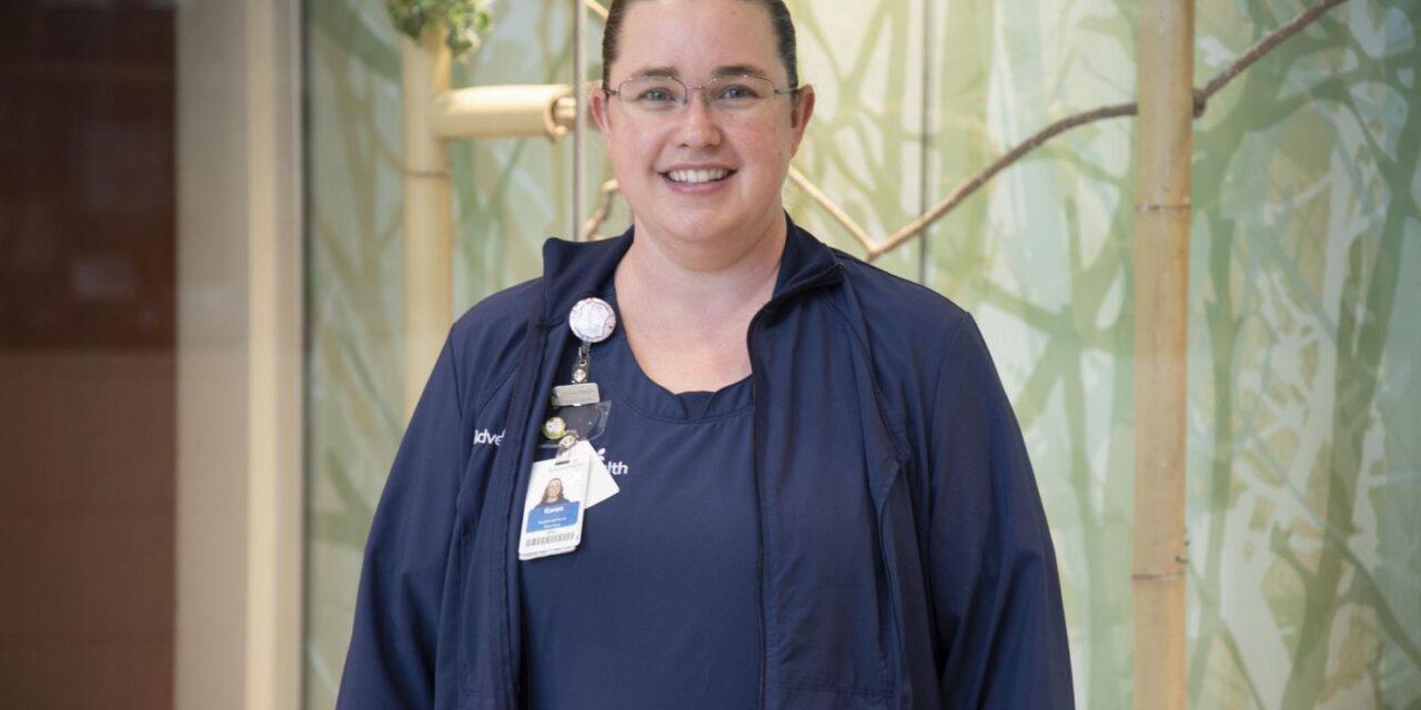 Karen Sullivan, RN, Recognized with DAISY Award