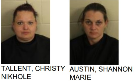 Women Found with Bags of Meth, Marijuana While Shoplifting at Hobby Lobby in Rome