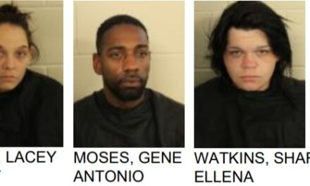 Floyd County Police Arrest Three on Drug Charges