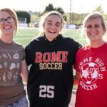 Rome High Soccer's Mae Pierce Recognized as All-Time Leading Scorer