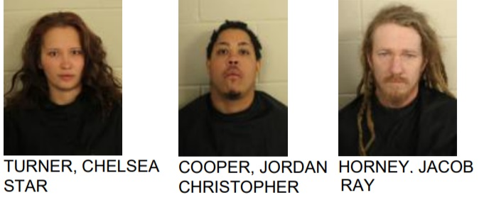 Stop Sign Violation Lands 3 in Jail in Drug Charge